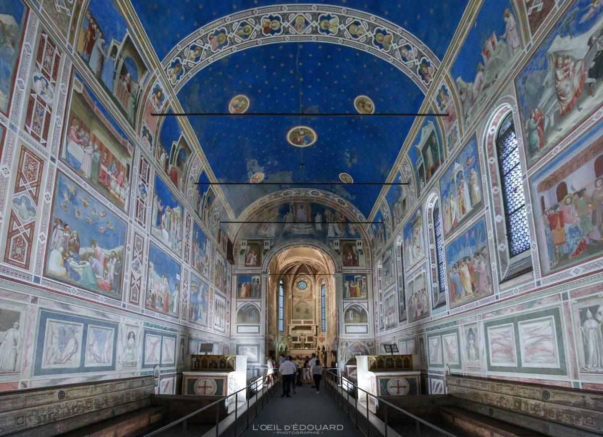 Chapelle Scrovegni, Padoue Italie - Peintures Fresques Giotto renaissance italienne - Capella degli Scrovegni Padova Italia Italy wall paintings