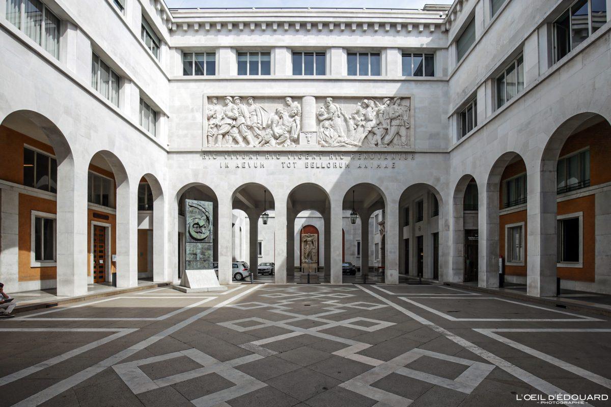 Palazzo Bo, Padoue Italie - Università degli Studi di Padova Italia Italy architecture