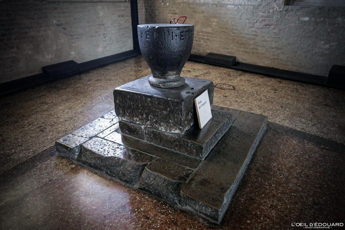 Pietra del Vituperio Palazzo della Ragione, Padoue Italie - Padova Italia Italy