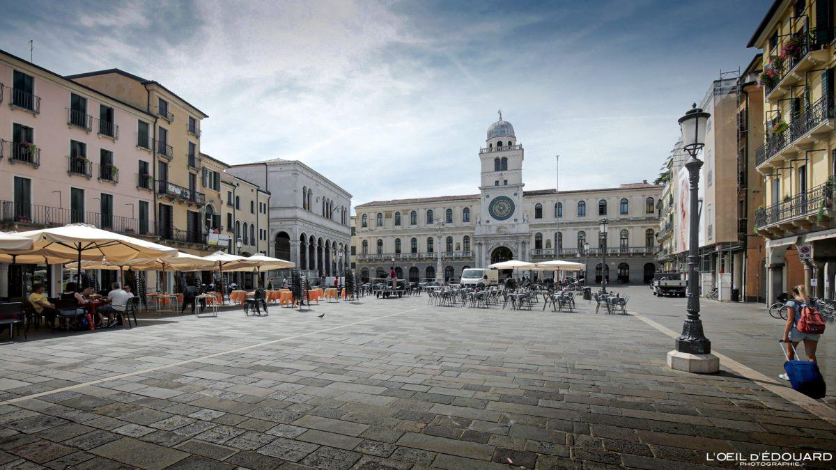 Piazza dei Signori, Padoue Italie - Padova Italia Italy Italian place italienne