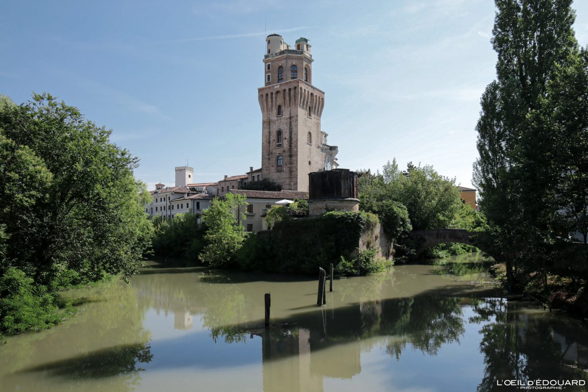 Tour La Specola, Padoue Italie - Castello Carrarese Padova Italia Italy Castle tower