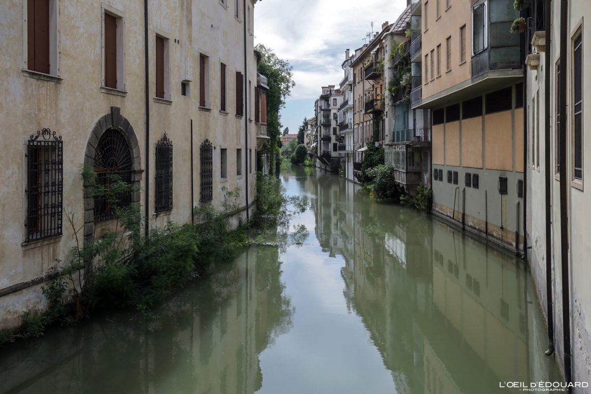 Canal Padoue Italie - Padova Italia Italy river