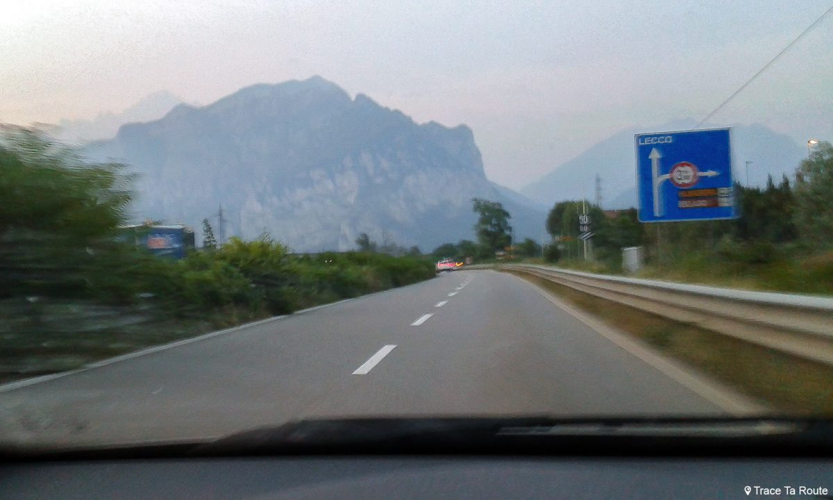 Route Lecco Road Trip Italie du Nord Italia Italy road