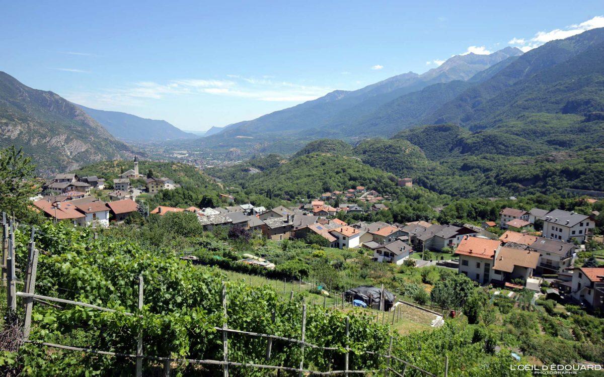 Village Vallée de Suse Road Trip Nord de l'Italie Piémont Paysage Montagne Alpes - Susa Piemonte Italia North Italy mountain landscape Alps