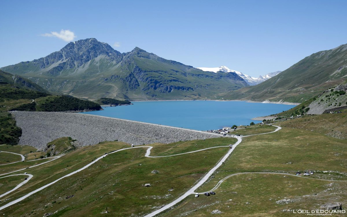 Lac du Mont-Cenis Frontière France Italie du Nord Road Trip Paysage Montagne Alpes - Piemonte Italia Francia North Italy mountain lake landscape Alps