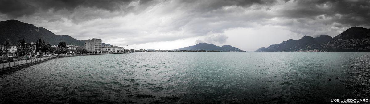Paysage Lac d'Iseo Italie du Nord Grands Lacs Italiens - Lago d'Iseo Italia North Italy Italian lake landscape