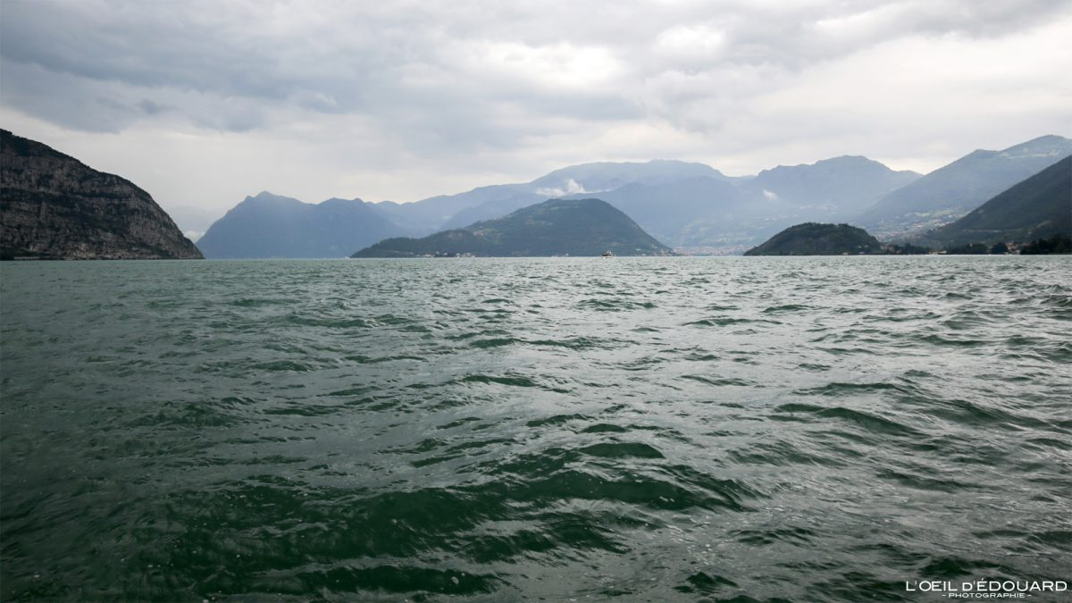 Lac d'Iseo Italie du Nord - Lago d'Iseo Italia North Italy italian lake landscape