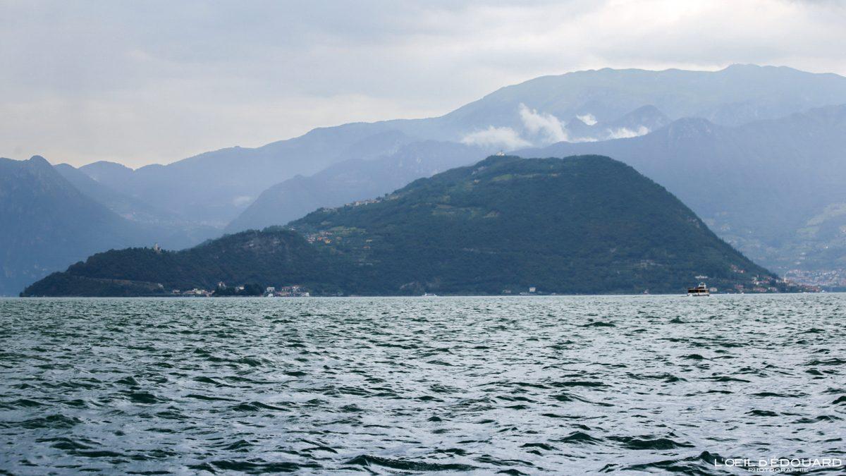 Île sur le Lac d'Iseo Italie du Nord - Monte Isola Lago d'Iseo Italia North Italy italian lake landscape