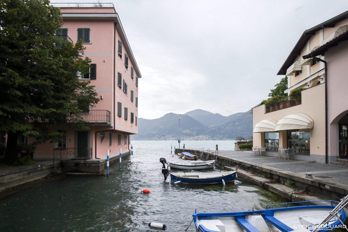 Lac d'Iseo Lombardie Italie du Nord - Lago d'Iseo Lombardia Italia North Italy lake