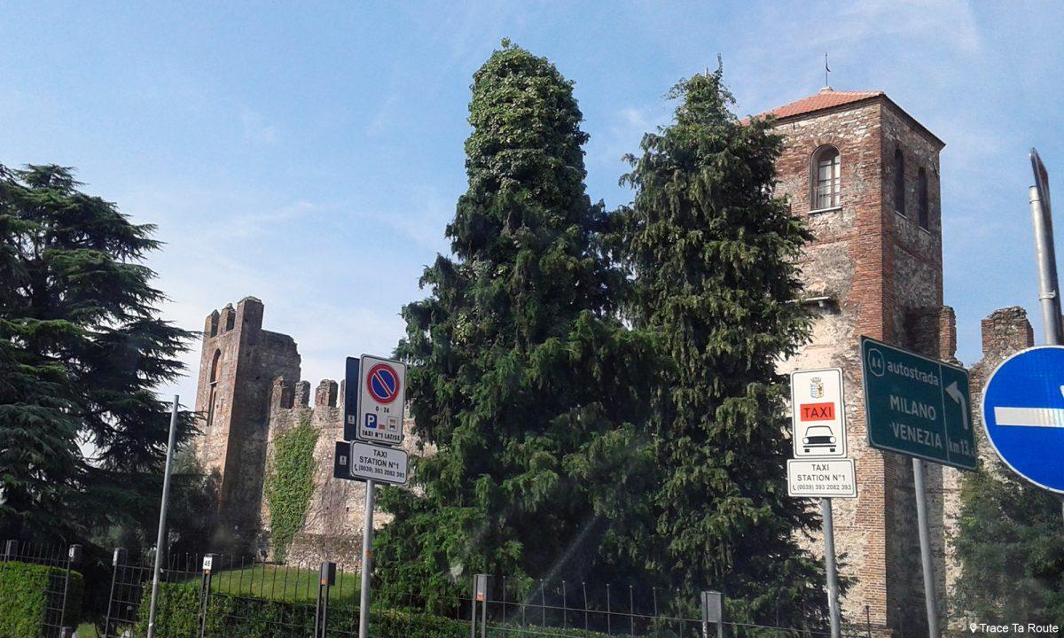Château Lac de Garde Italie du Nord - Lago di Garda Italia North Italy castle