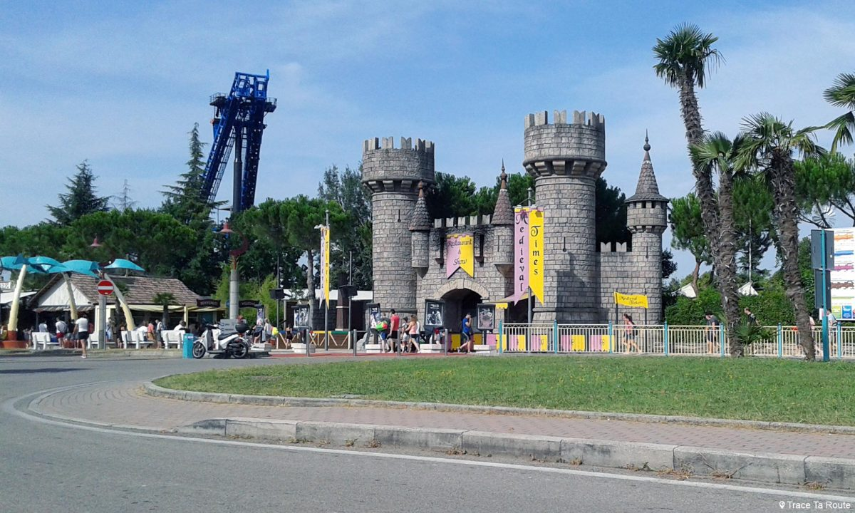 Parc d'attraction Movieland Lac de Garde Italie du Nord - Lago di Garda Italia North Italy
