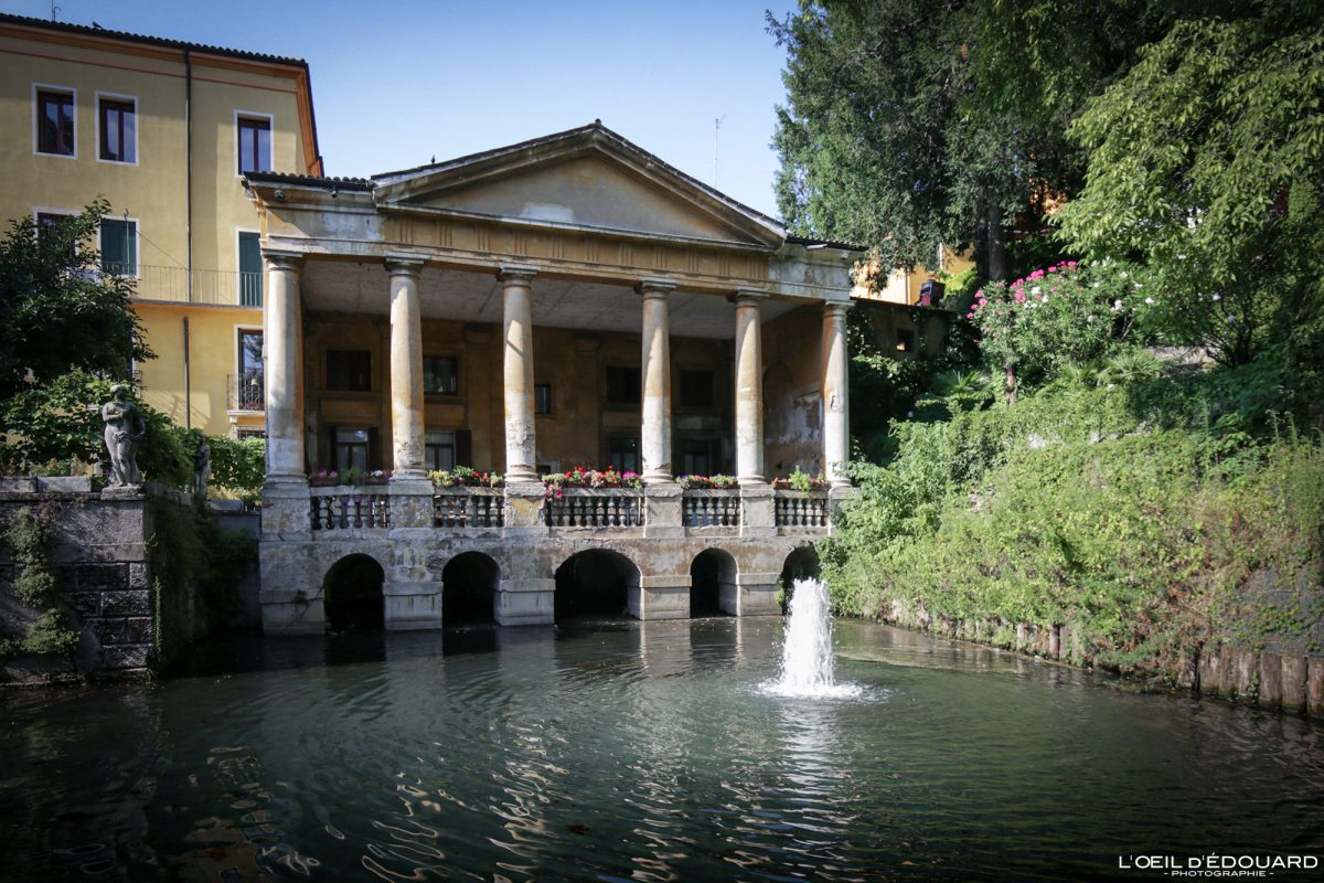 Jardin Querini Vicence Italie Vénétie - Loggia Valmarana Giardini Querini di Vicenza Italia Veneto Italy garden park architecture