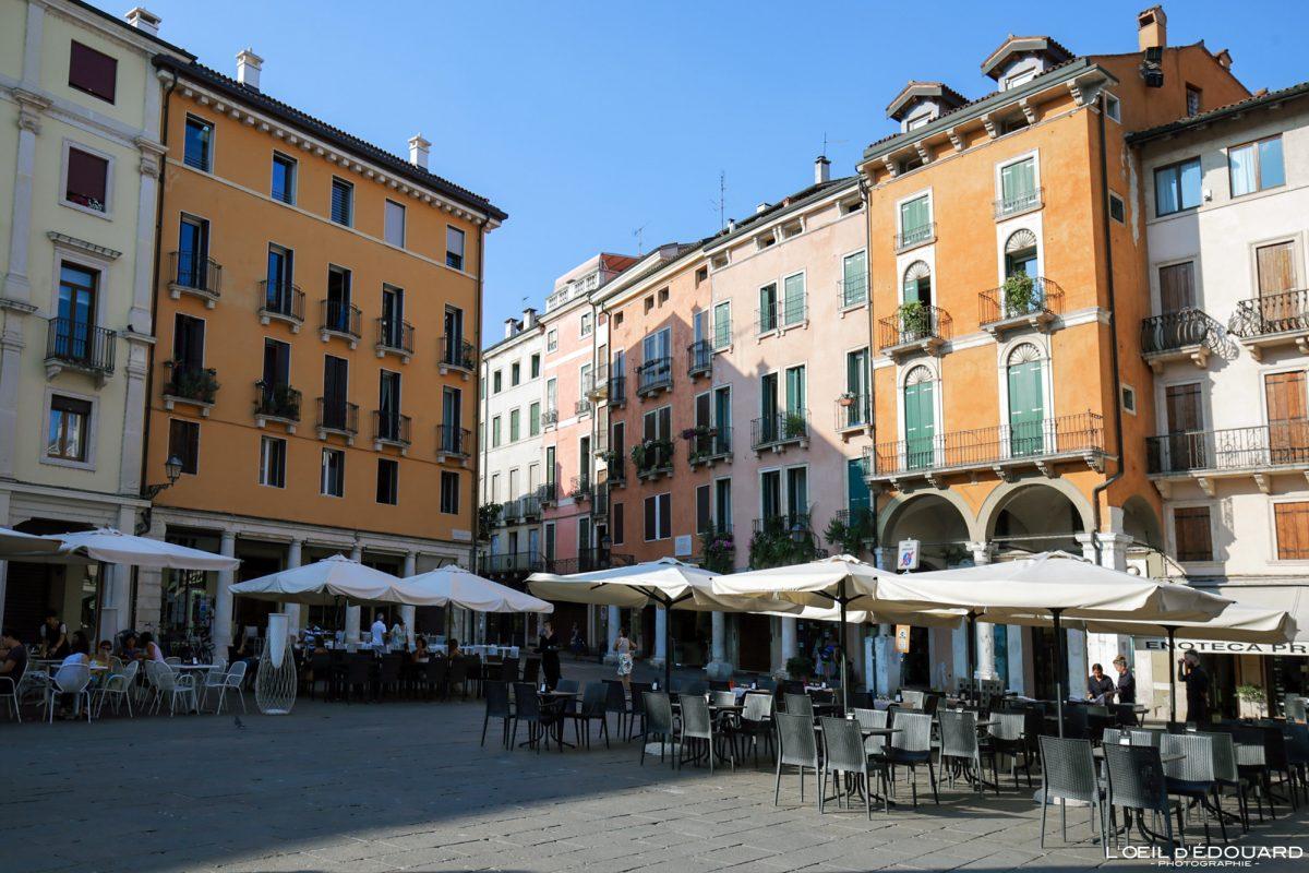 Place Vicence Italie Vénétie - Piazza della Biade Vicenza Italia Veneto Italy Italian place architecture