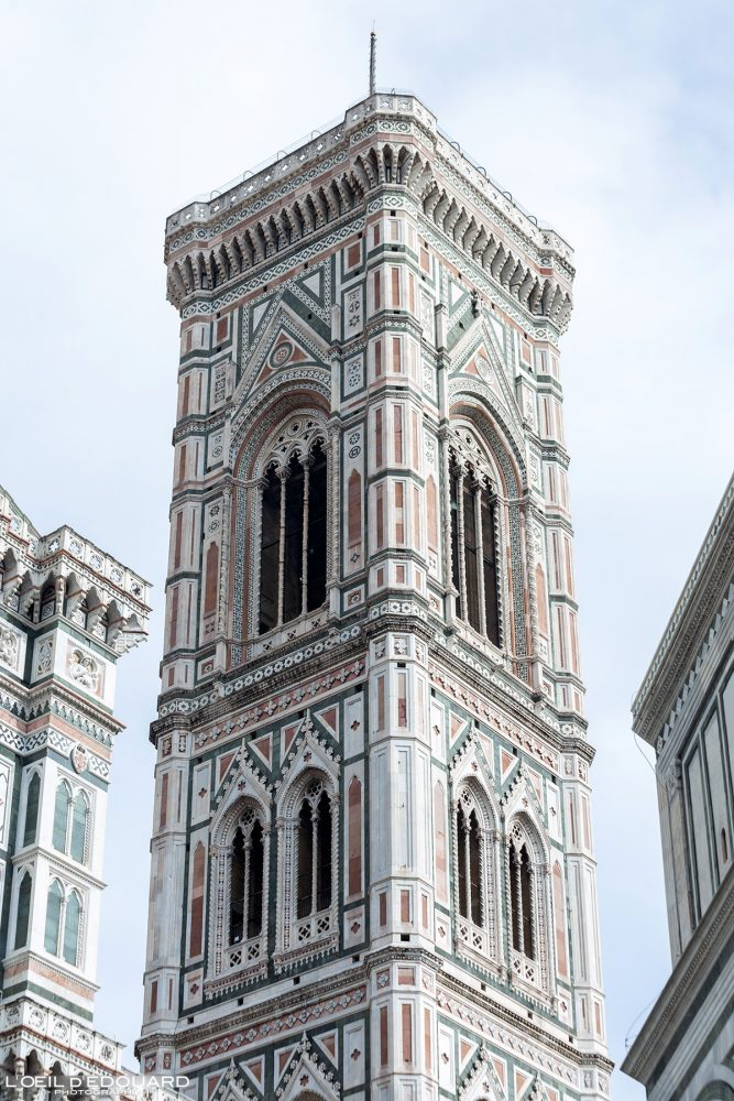Campanile Cathédrale de Florence Toscane Italie - Torre Duomo Firenze Toscana Italia Tuscany Italy tower architecture Renaissance