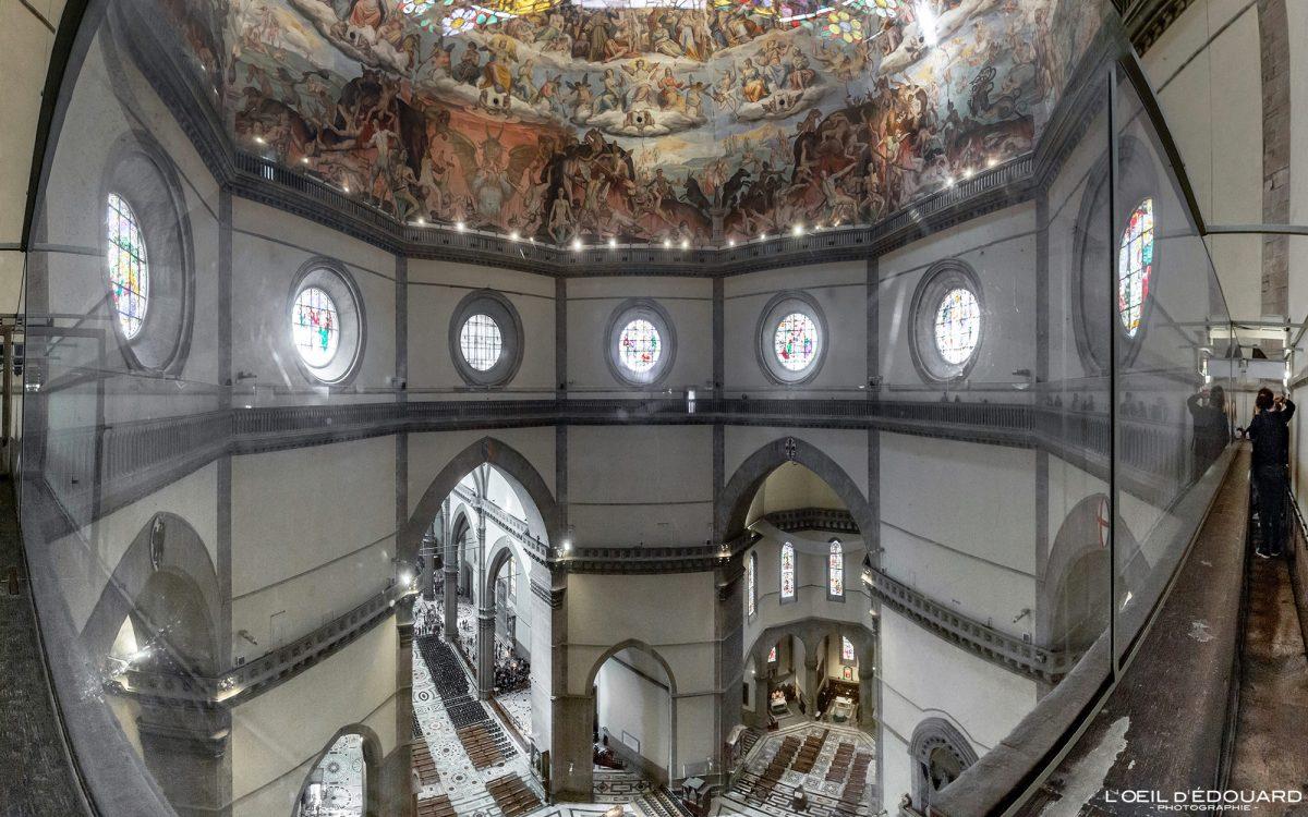 Cathédrale de Florence Toscane Italie : Coupole Brunelleschi - Cattedrale di Santa Maria del Fiore Duomo Firenze Toscana Italia Tuscany Italy church architecture