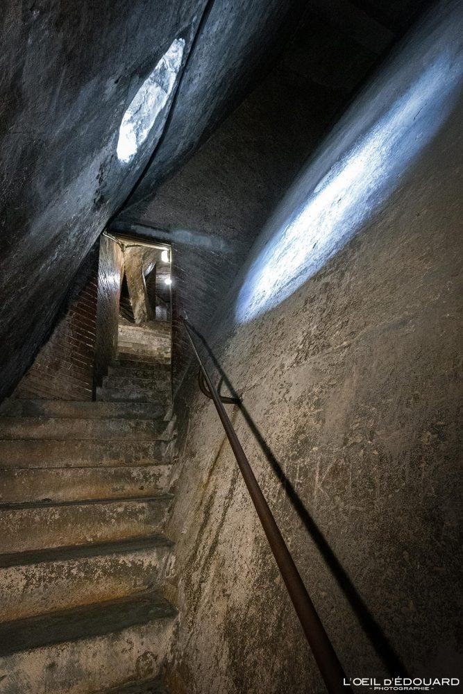 Cathédrale de Florence Toscane Italie : escalier sommet intérieur Coupole de Brunelleschi architecture Renaissance - Cattedrale di Santa Maria del Fiore Duomo Firenze Toscana Italia Tuscany Italy staircase