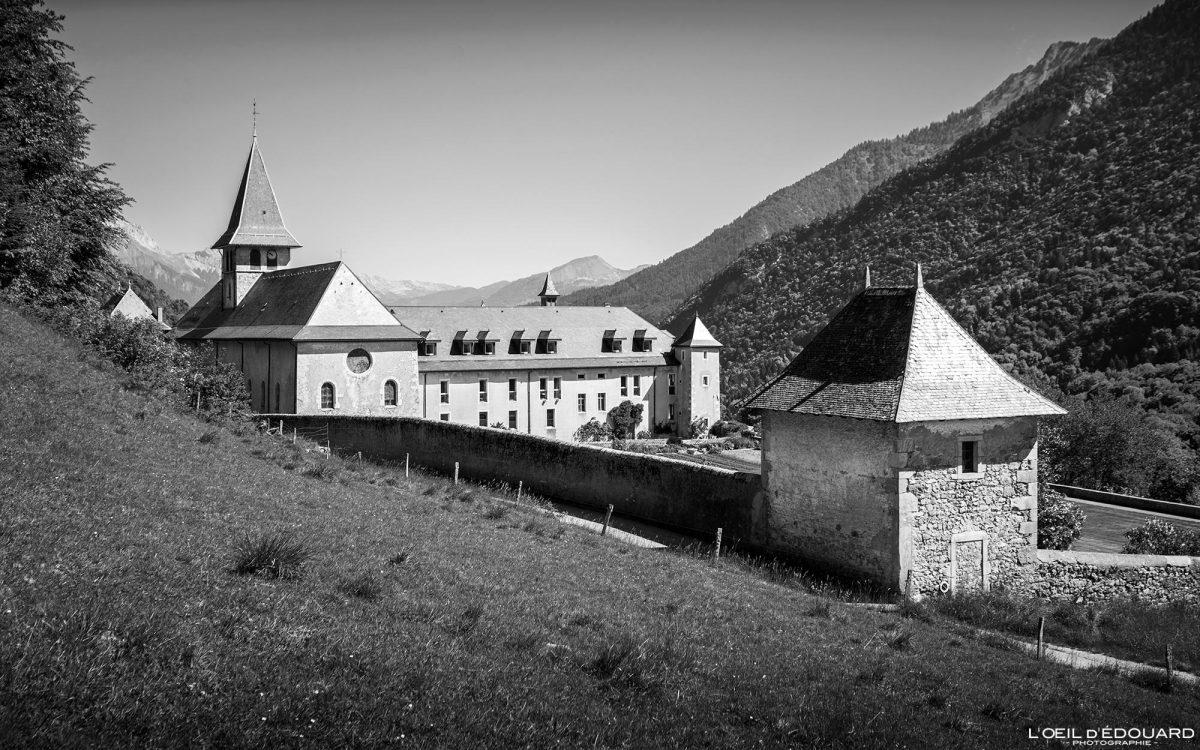 Abbaye de Tamié - Massif des Bauges Savoie Alpes France