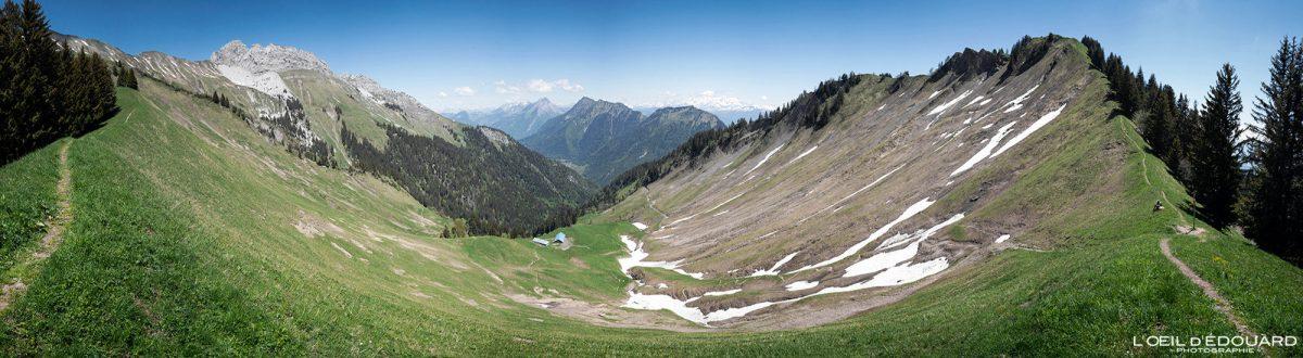 Col du Drison et Parc du Mouton - Randonnée Massif des Bauges Savoie Alpes France Paysage Montagne - Mountain Landscape French Alps Outdoor Hike Hiking