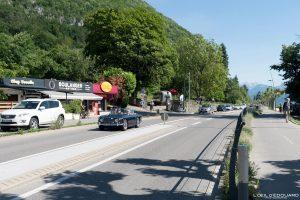 Route Avenue de Chavoires - Le Petit Port Annecy-le-vieux Haute-Savoie Alpes France road