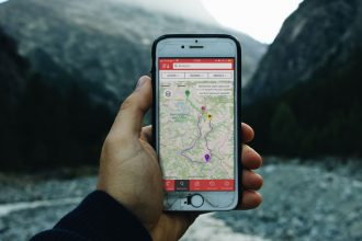 Smartphone Application Openrunner Outdoor app