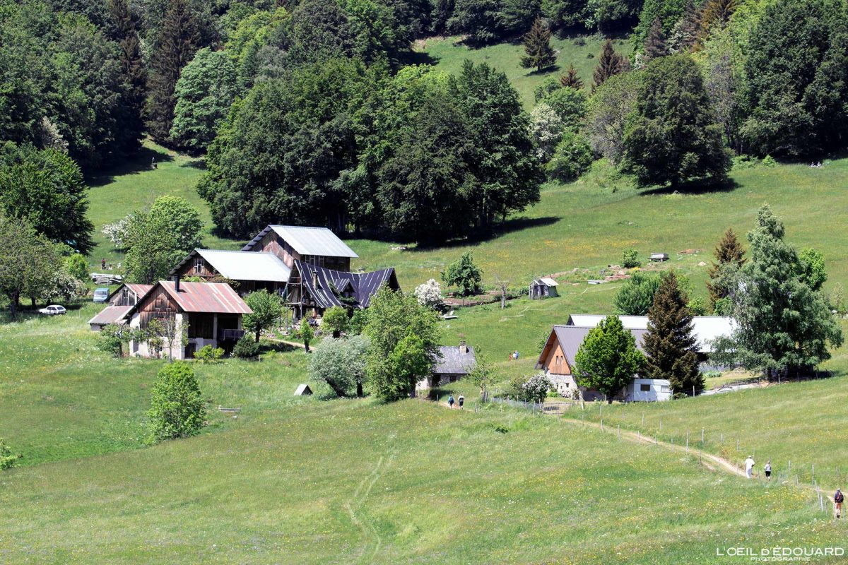 Les Granges de Joigny Massif de la Chartreuse Savoie Alpes France Chalets Montagne - Mountain houses French Alps Outdoor