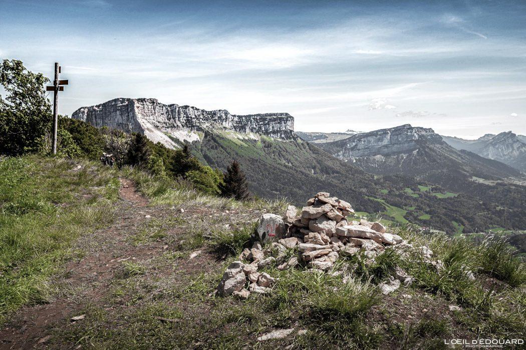 Sommet Mont Joigny - Randonnée Massif de la Chartreuse Savoie Alpes France Paysage Montagne - Mountain Landscape French Alps Outdoor