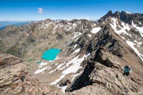 Randonnée Grande Lance de Domène Belledonne Lac Blanc Isère Alpes France Paysage Montagne Outdoor hike hiking French Alps Mountain Lake Landscape