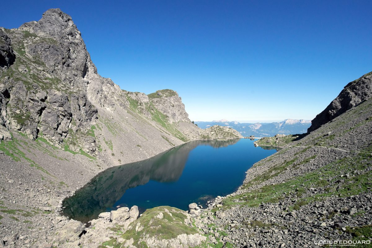 Lac du Crozet Belledonne Isère Alpes France Paysage Montagne Outdoor hike hiking French Alps Lake Mountain Landscape