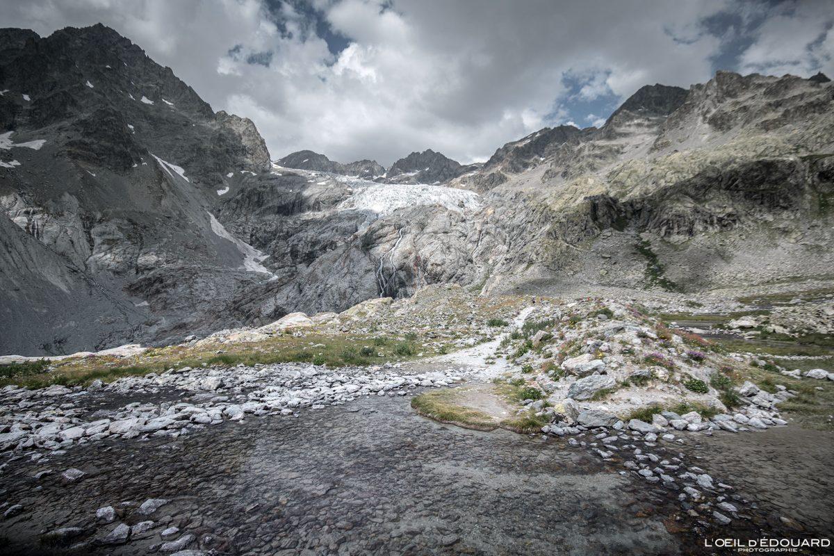 Randonnée Glacier Blanc Massif des Écrins Hautes-Alpes France Montagne Paysage - Mountain Landscape French Alps Outdoor Hike Hiking