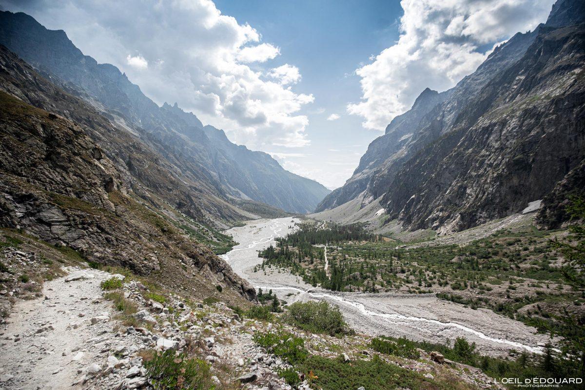 Pré de Madame Carle Randonnée Refuge du Glacier Blanc Massif des Écrins Hautes-Alpes France Montagne Paysage - Mountain Landscape French Alps Outdoor Hike Hiking