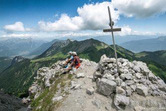 Sommet Arcalod Massif des Bauges Savoie Alpes France Randonnée Paysage Montagne - Landscape Mountain Landscape summit French Alps Outdoor Hike Hiking