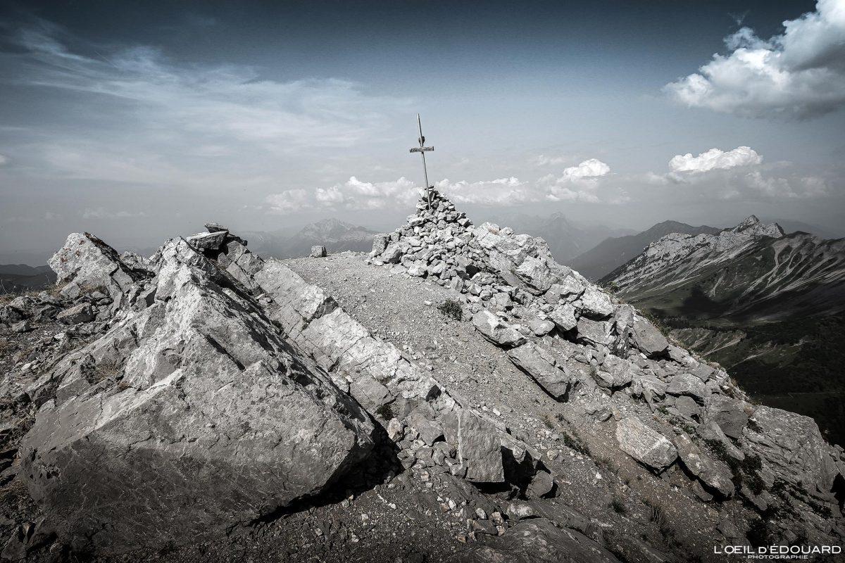 Sommet Arcalod Massif des Bauges Savoie Alpes France Randonnée Montagne Paysage - Mountain Landscape French Alps Outdoor Hike Hiking
