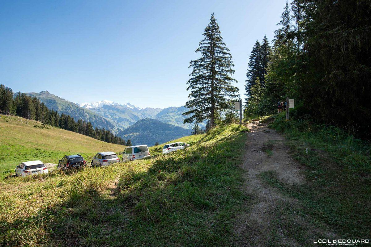 Randonnée La Roche Parstire depuis le Col du Pré Beaufortain Savoie Alpes France Paysage Montagne - Mountain Landscape French Alps Outdoor Hike Hiking