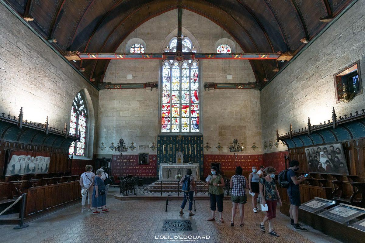 Chapelle Salle des Pôvres Hôtel-Dieu Hospices de Beaune Bourgogne France Architecture