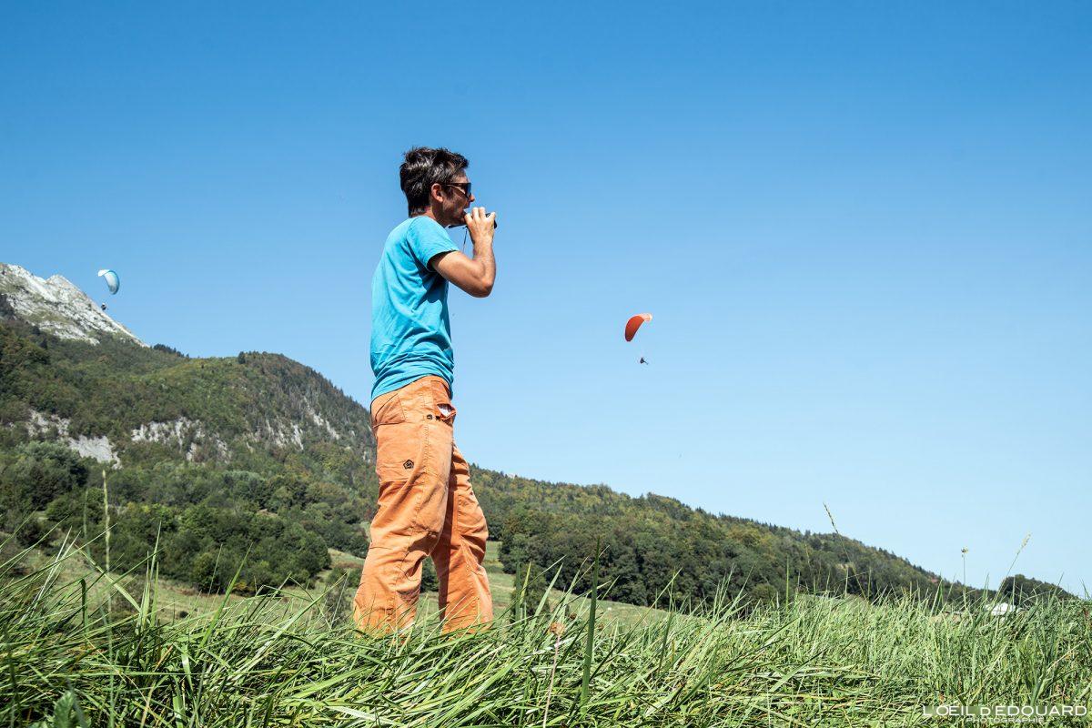 Stage Vol parapente Bornes-Aravis Haute-Savoie Alpes Montagne Outdoor French Alps Mountain Paragliding fly paraglider flying