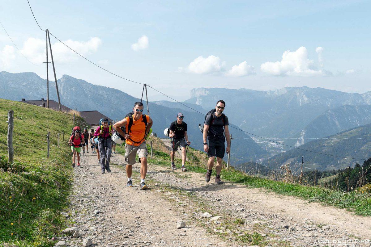 Randonnée à Sulens Bornes-Aravis Haute-Savoie Alpes Montagne Outdoor French Alps Mountain Hiking Hike