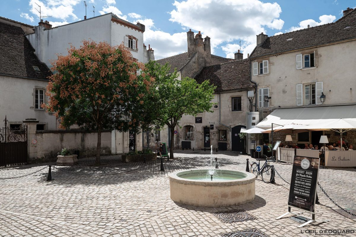 Place Félix Ziem Beaune Bourgogne France