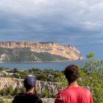 Vue sur les Calanques de Cassis Bouches-du-Rhône Provence-Alpes-Côte d'Azur France Paysage Mer Méditerranée Outdoor Mediterranean Sea Landscape
