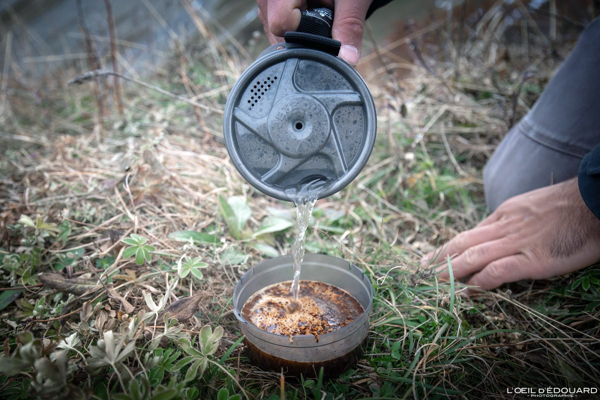 Test réchaud Jetboil Flash cooking system review outdoor hiking trekking
