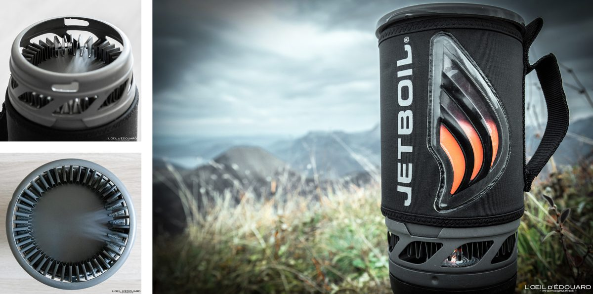Test réchaud Jetboil Flash cooking system FluxRing review outdoor hiking trekking
