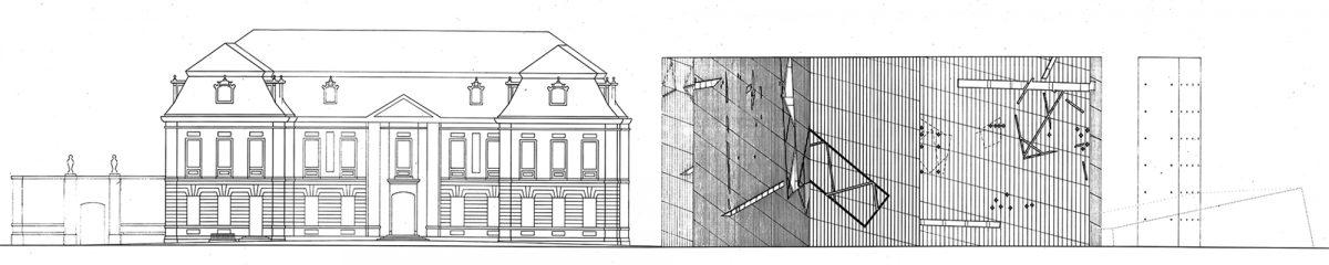 Plan Architecture Musée Juif de Berlin Allemagne - Jüdisches Museum Deutschland Germany Jewish Museum - Architecte Daniel Libeskind ©