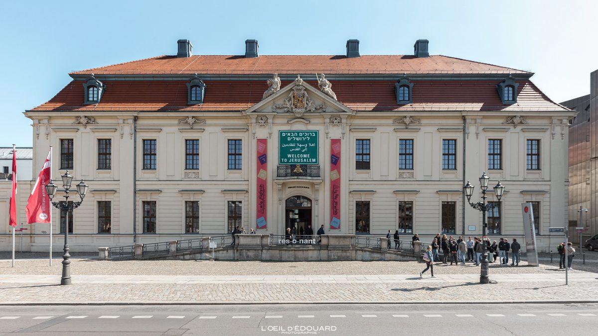 Kollegienhaus Musée Juif de Berlin Allemagne - Jüdisches Museum Deutschland Germany Jewish Museum Architecture
