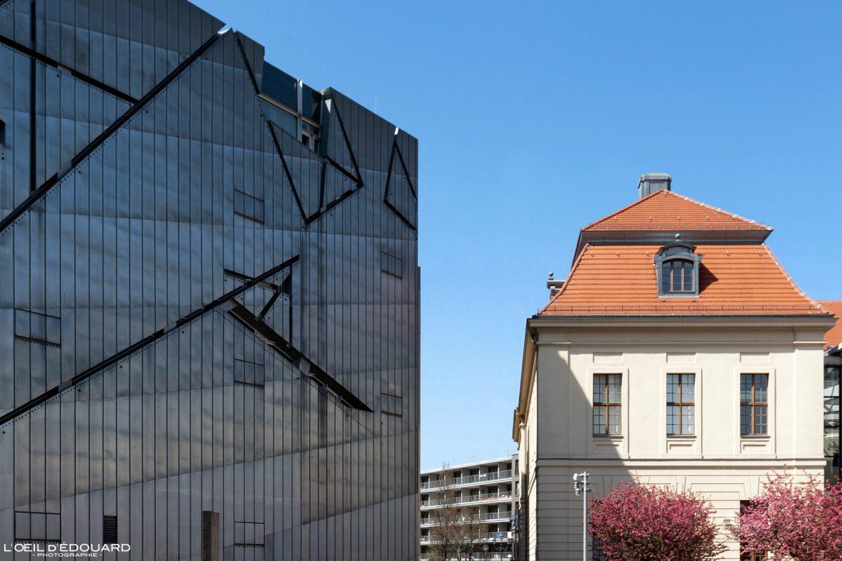 Kollegienhaus Musée Juif de Berlin Allemagne - Jüdisches Museum Deutschland Germany Jewish Museum Arhitecture Daniel Libeskind
