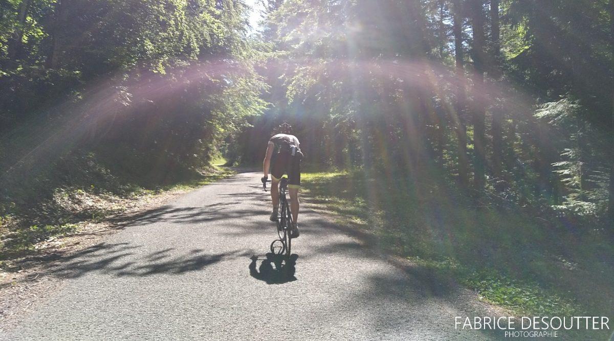 Cyclisme vélo route Col du Coq Massif de la Chartreuse Isère Alpes France - Paysage Montagne Outdoor French Alps Mountain Landscape road bike