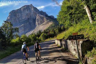 Cyclisme vélo Col du Granier Massif de la Chartreuse Savoie Alpes France - Paysage Montagne Outdoor French Alps Mountain Landscape road bike