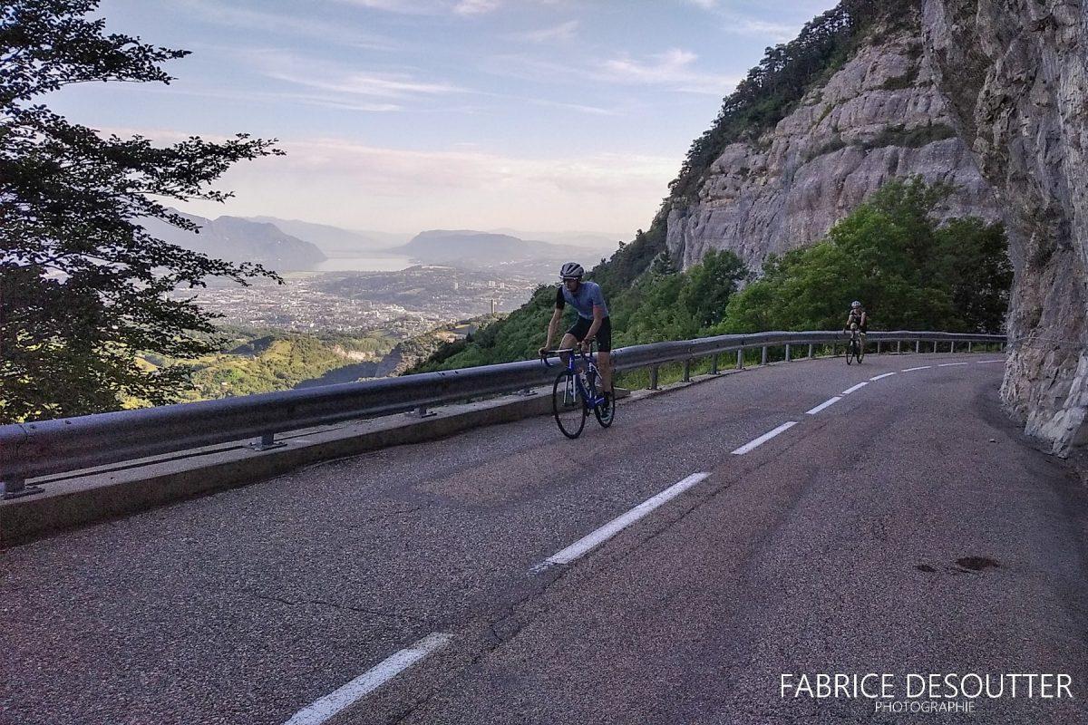 Cyclisme vélo Route du Col du Granier Massif de la Chartreuse Savoie Alpes France - Paysage Montagne Outdoor French Alps Mountain Landscape road bike