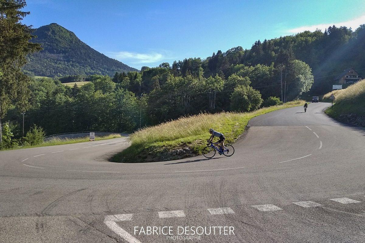 Cyclisme vélo Route Col du Granier Massif de la Chartreuse Savoie Alpes France - Paysage Montagne Outdoor French Alps Mountain Landscape road bike