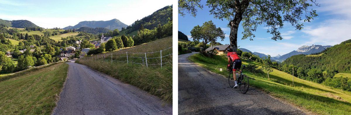Cyclisme vélo Entremont-le-Vieux Massif de la Chartreuse Savoie Alpes France - Paysage Montagne Outdoor French Alps Mountain Landscape road bike