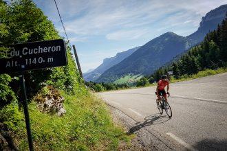 Cyclisme vélo Col du Cucheron Massif de la Chartreuse Isère Alpes France - Paysage Montagne Outdoor French Alps Mountain Landscape road bike