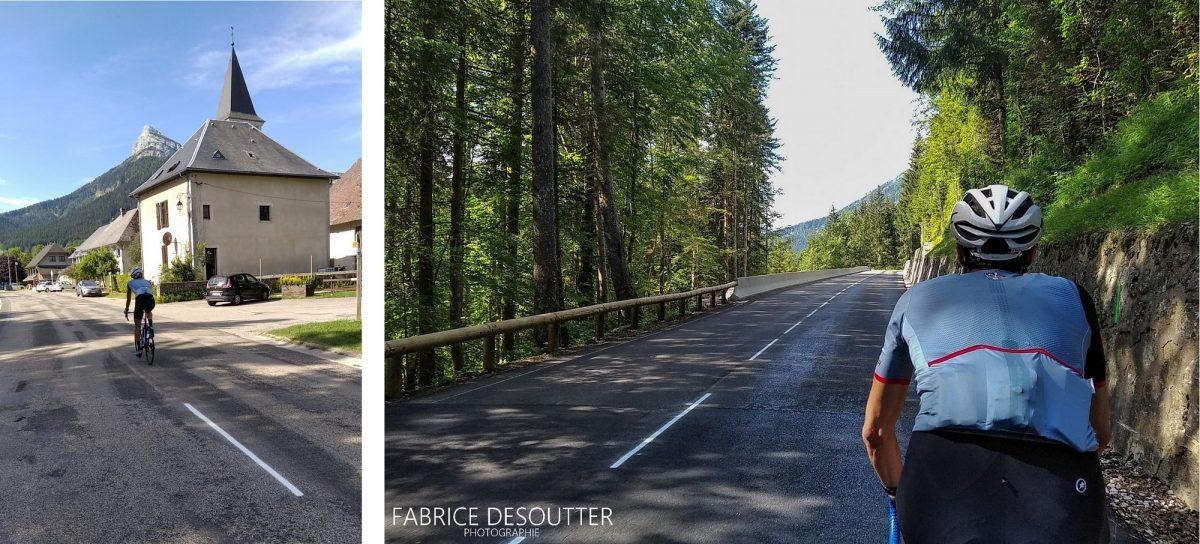 Cyclisme vélo Massif de la Chartreuse Isère Alpes France - Paysage Montagne Outdoor French Alps Mountain Landscape road bike